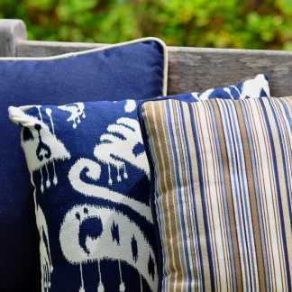 GeoBella® Blues Outdoor Upholstery Fabrics