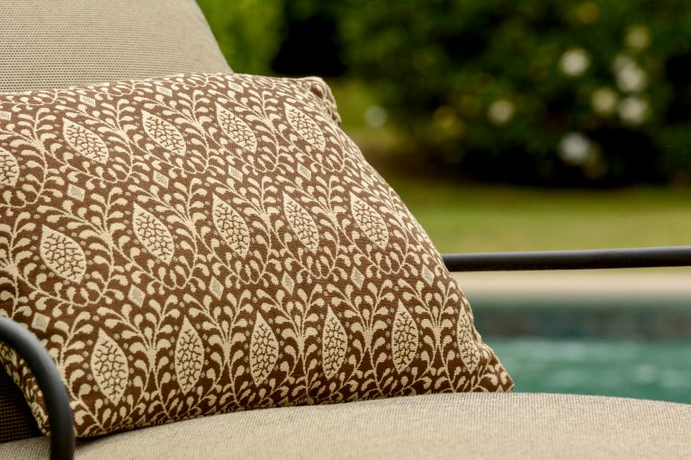 Phifer GeoBella Neutrals Outdoor Cushion and Pillow Fabric