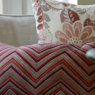 GeoBella® Orange & Red Outdoor Upholstery Fabrics